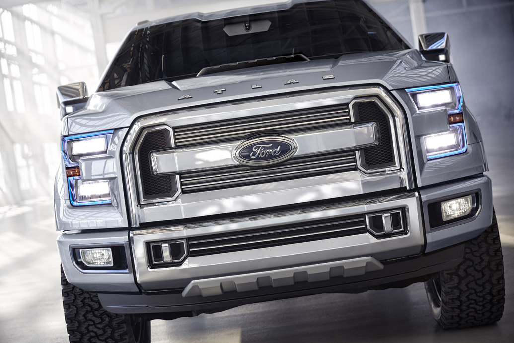 Ford Atlas Concept Grill