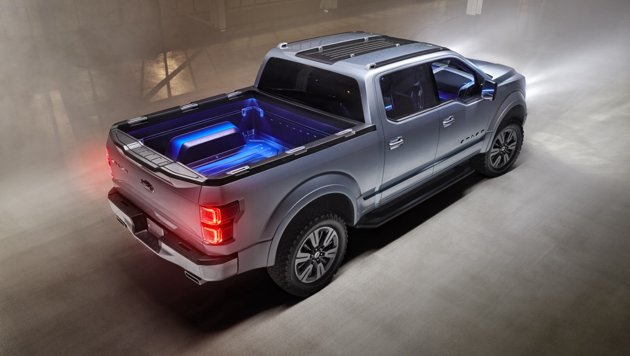 Ford Atlas Concept Roof