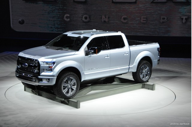 Ford Atlas Concept Side