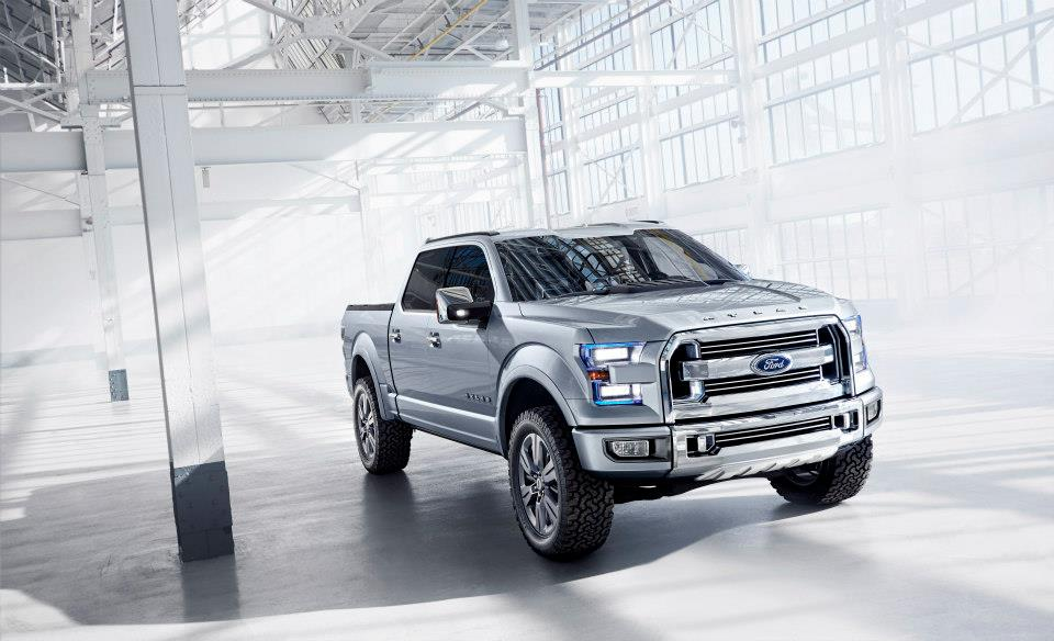 Ford Atlas Concept Truck F-150 NJ Ford