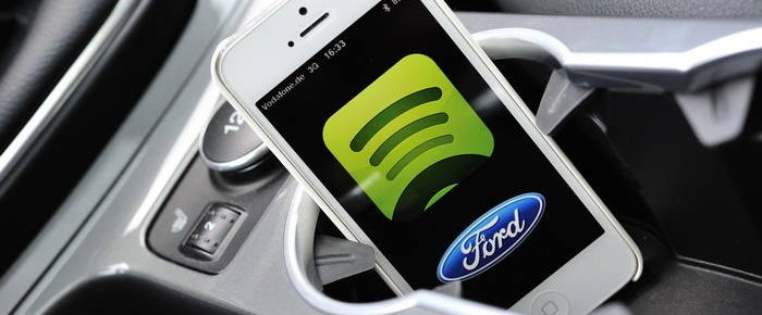 Ford AppLink Spotify