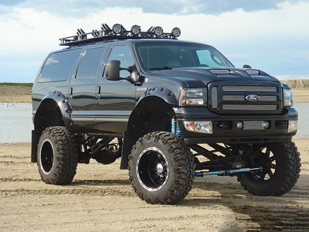 ford excursion lifted diesel