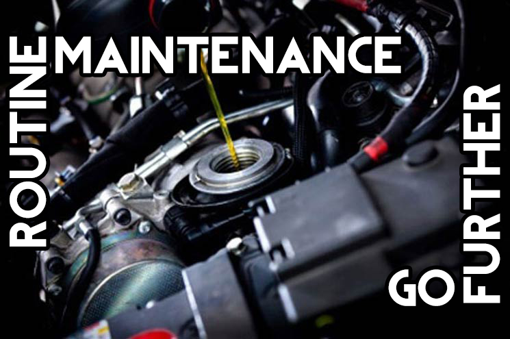 toms ford routine maintenance service oil change go further