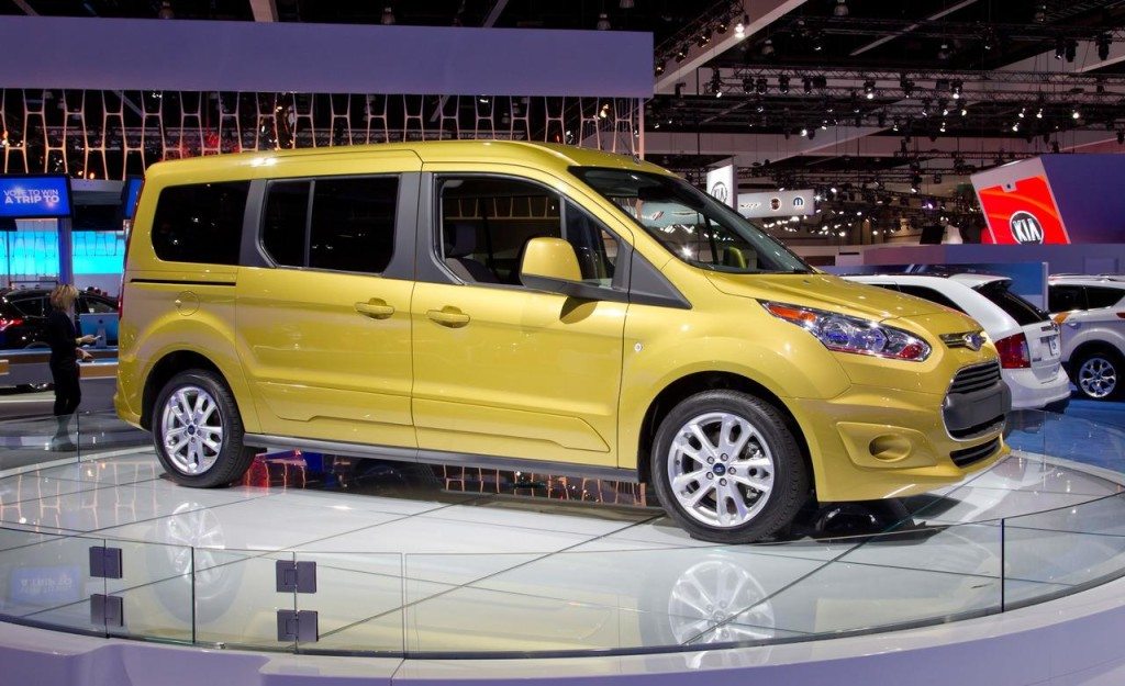2014 Ford Transit Connect Model Changes