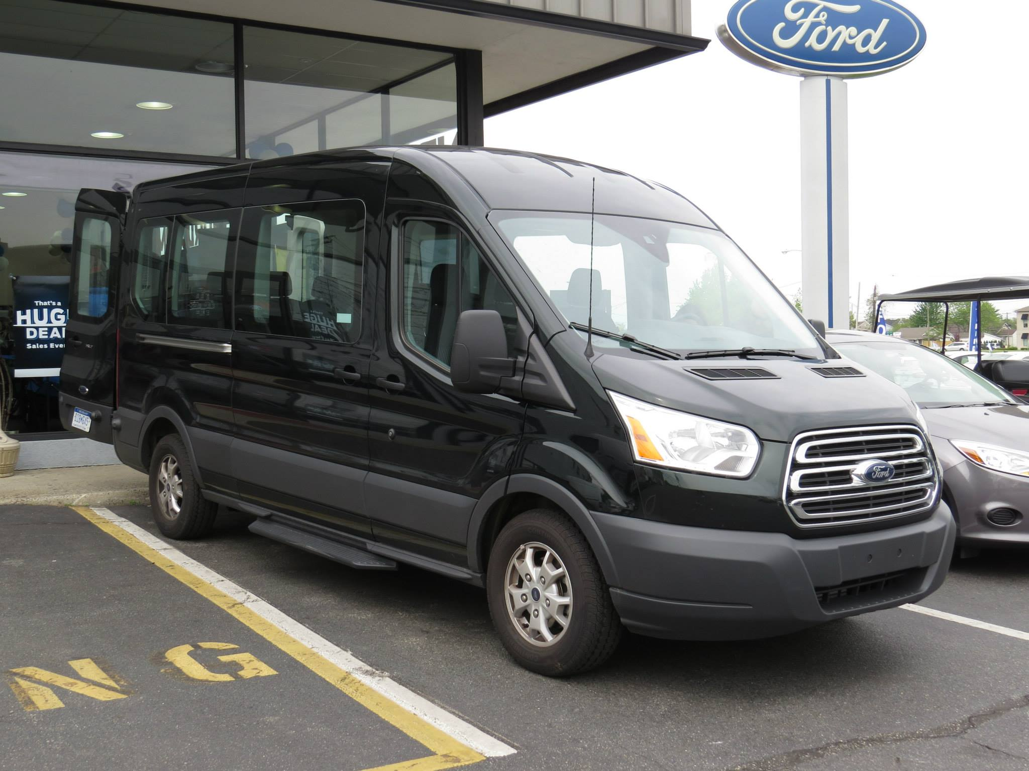 2015 Ford Transit The Bigger Better Turbocharged Toolbox Ford