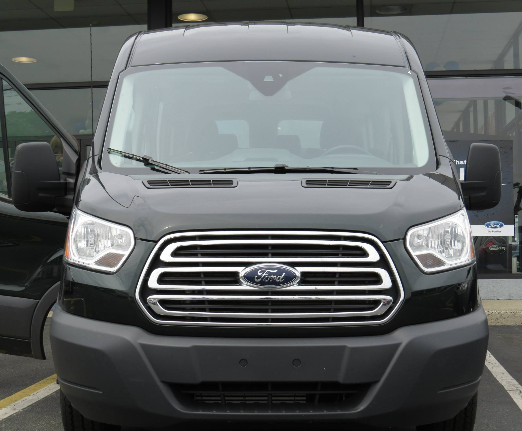 2015 Ford Transit Grill