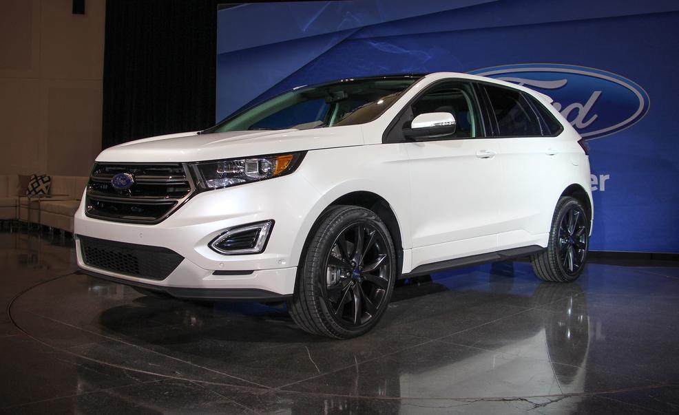 Ford Edge Cargo Space >> 2015 Ford Edge Debut - Ford Addict