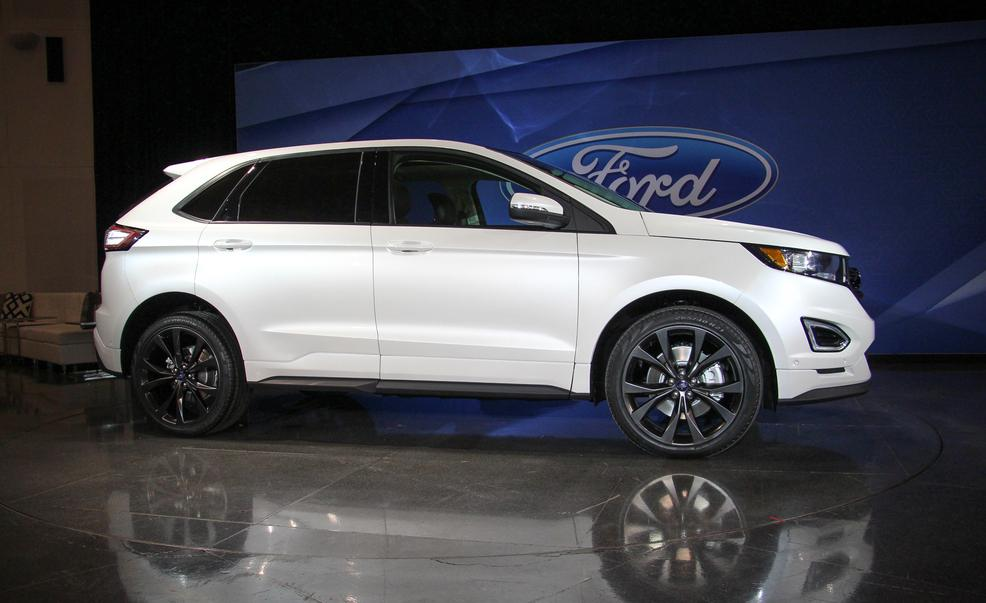 2015 ford edge white images galleries with a bite. Black Bedroom Furniture Sets. Home Design Ideas