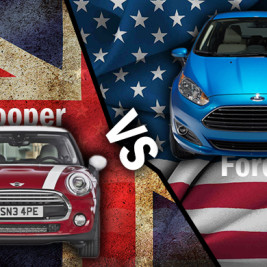 Fiesta 1.0L vs. Mini Cooper