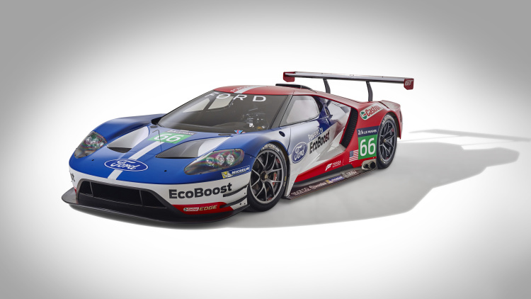 2016 Ford Gt At Le Mans