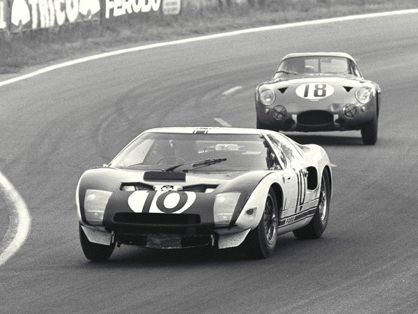 The Mk1 GT40 testing